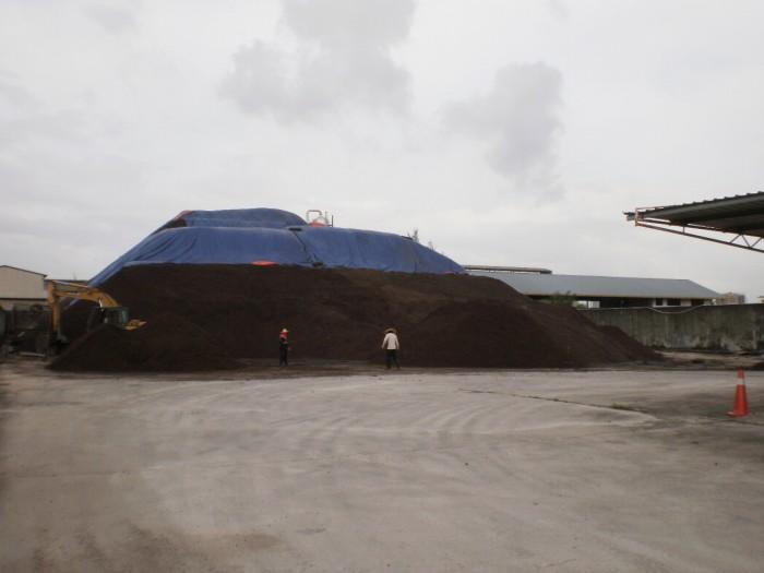 専用ヤードには最大1万5千トンのPKSを保管可能